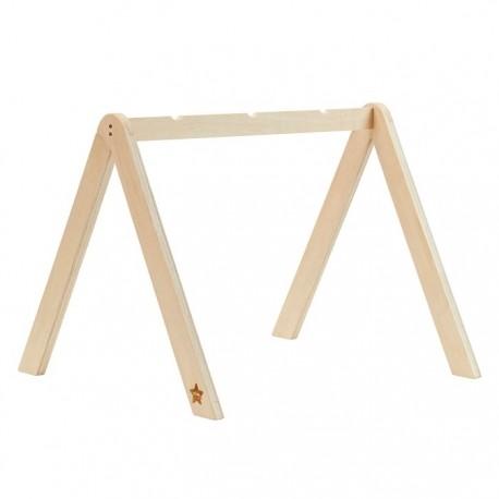 Drewniany pałąk na zabawki Natural