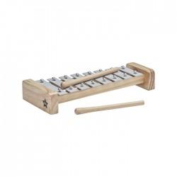 Drewniane cymbałki - szare