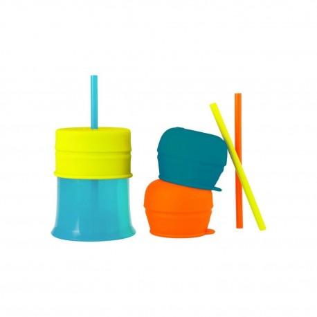 Boon - Snug Kubek+silikonowe nakładki i słomki 3