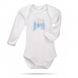 Lait Baby Organic Body Long Sleeve Oscar the Bunny