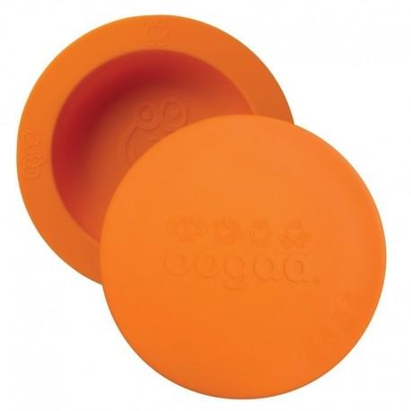 oogaa Orange Bowl & Lid silikonowa miseczka z pokrywką