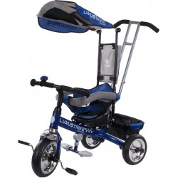 Rowerek trójkołowy Luxus Trike - niebieski