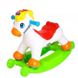 Interaktywny koń na biegunach