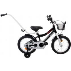 "Rowerek BMX 14"" Junior czarny"