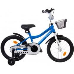 "Rowerek BMX 16"" Junior niebieski"