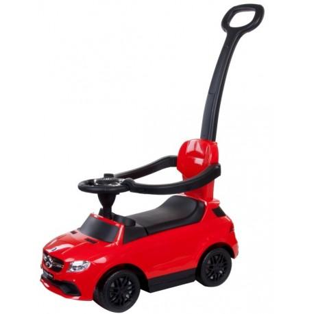 Jeździk Mercedes - Benz z popychaczem - czerwony