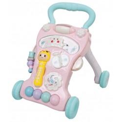 Chodzik - pchacz do nauki chodzenia z zabawkami