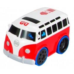 Interaktywny autobus z odgłosem silnika
