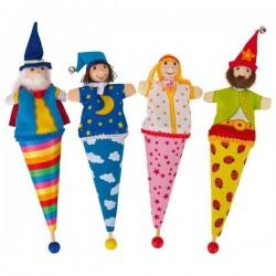 Marionetki dworskie zestaw