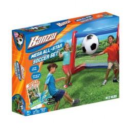 Banzai Mega All-Star zestaw do gry w piłkę nożną