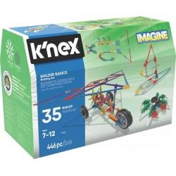 K'nex Imagine Podstawy dla Konstruktorów- zestaw konstrukcyjny - 35 modeli