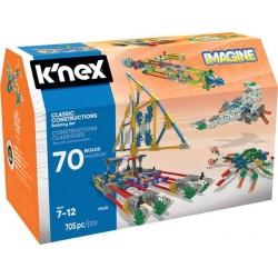 K'nex Imagine Klasyczne Konstrukcje - zestaw konstrukcyjny - 70 modeli