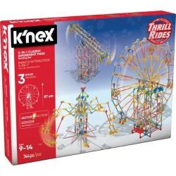 K'Nex 3w1 Wesołe Miasteczko - zestaw konstrukcyjny