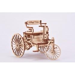 Wood Trick – puzzle 3D – pierwszy samochód