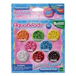 Aquabeads Zestaw litych koralików