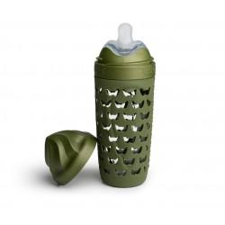 Herobility - butelka antykolkowa HeroEcoBottle - zielona, 320 ml