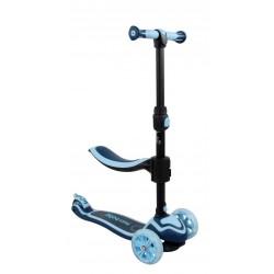 Rowerek biegowy i hulajnoga Flash - niebieski