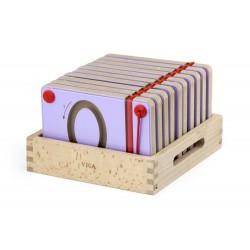 Magnetyczne cyfry do nauki pisania - 10 sztuk