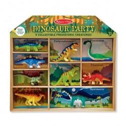 Dinozaury – zestaw 9 figurek