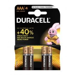 Duracell Basic AAA/LR03 1,5V baterie alkaliczne
