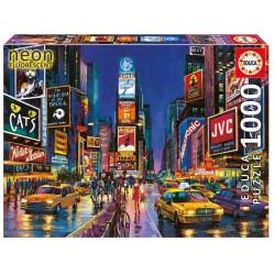 Puzzle Times Square, Nowy Jork, Neonowe 1000 el.