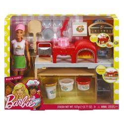 Barbie Pizzeria Zestaw + lalka