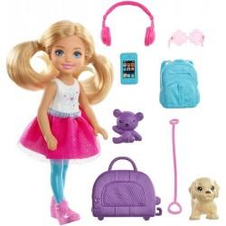 Barbie Dreamhouse Adventures Chelsea w podróży Lalka