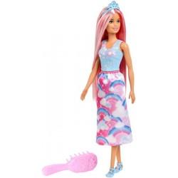 Barbie Dreamtopia Lalka Księżniczka do czesania Ast.