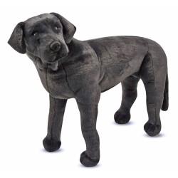 Czarny duży pluszak Labrador