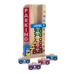 Wieża parkingowa – Garaż z autkami