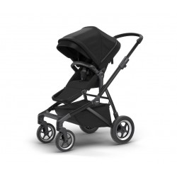 Thule Sleek - rama + siedzisko spacerowe - Black on Black