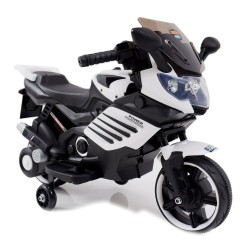 MOTOR ŚCIGACZ POWER 158 - PIERWSZY MOTOREK DLA DZIECKA, MIĘKKIE SIEDZENIE, MIĘKKIE KOŁA EVA/LQ158