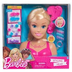Barbie głowa do stylizacji blond