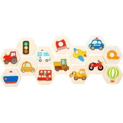 Memo Traffic - gra z pojazdami w tubie