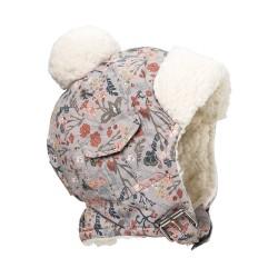 Elodie Details - Czapka Zimowa Vintage Flower 1-2 lata