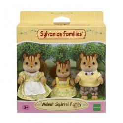 Sylvanian Families Rodzina wiewiórek (Tata, Mama, Siostra)